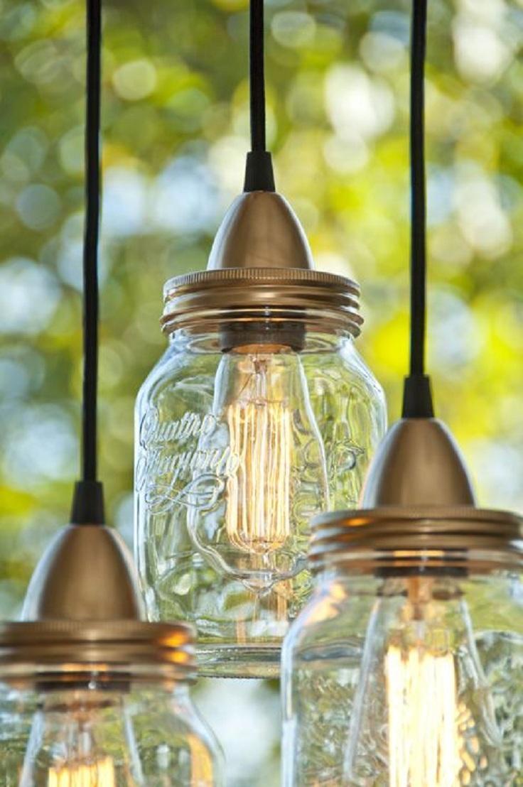 Beautiful Jar with Lights