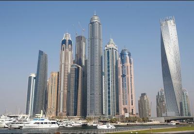 High Rise Buildings in Dubai